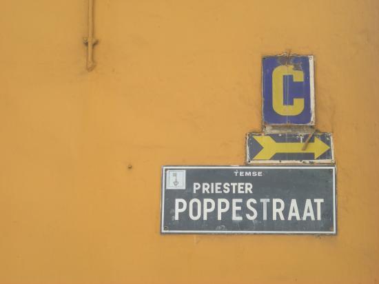 Plaque de rue N°2