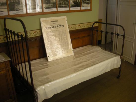 Le lit mortuaire