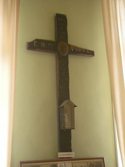 La croix tombale