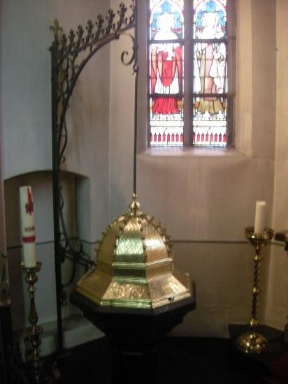 La cuve baptismale